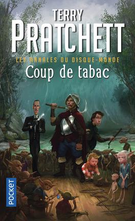 Couverture du livre : Les Annales du Disque-Monde, tome 34 : Coup de tabac