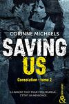 couverture Consolation, Tome 2 : Saving Us