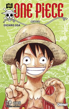 Couverture du livre : One Piece, Tome 85 : Menteur