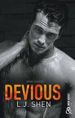 Couverture du livre : Sinners of Saint, Tome 2 : Devious