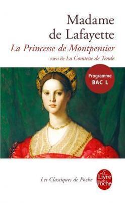 Couverture de La Princesse de Montpensier ; La Comtesse de Tende