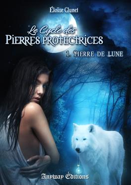 Couverture du livre : Le Cycle des Pierres Protectrices, Tome 1 : Pierre de Lune