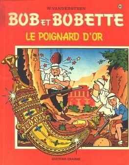 Couverture du livre : Le poignard d'or