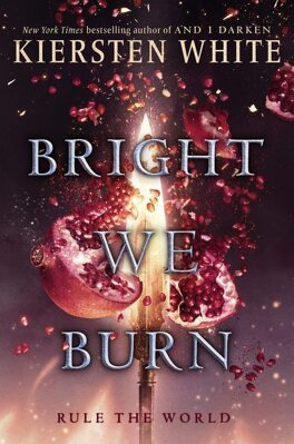 Couverture du livre : The Conquerors Saga, tome 3 : Bright We Burn