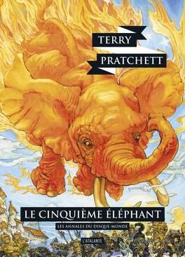 Couverture du livre : Les Annales du Disque-Monde, tome 25 : Le cinquième éléphant