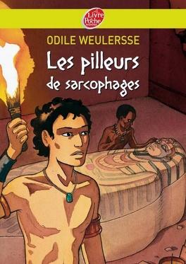Couverture du livre : Les Pilleurs de sarcophages
