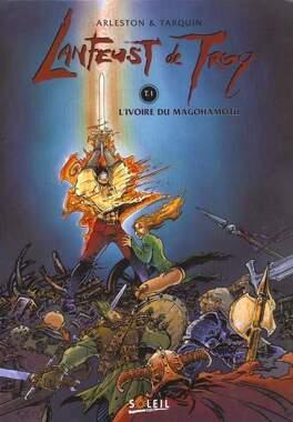 Couverture du livre : Lanfeust de Troy, Tome 1 : L'ivoire du Magohamoth