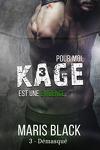 couverture Kage, Tome 3 : Démasqué