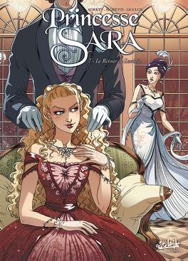 Couverture du livre : Princesse Sara, Tome 7 : Le Retour de Lavinia
