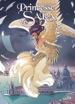 Couverture du livre : Princesse Sara, Tome 9 : Intrigue à Venise