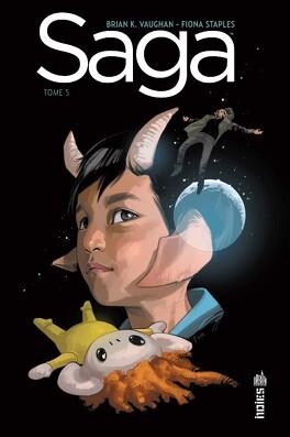 Couverture du livre : Saga, tome 5