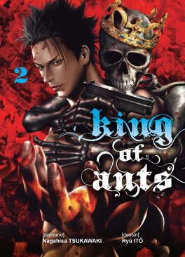Couverture du livre : King of the ants, Tome 2