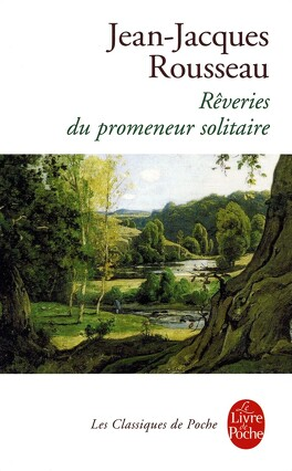 Couverture du livre : Les Rêveries du promeneur solitaire