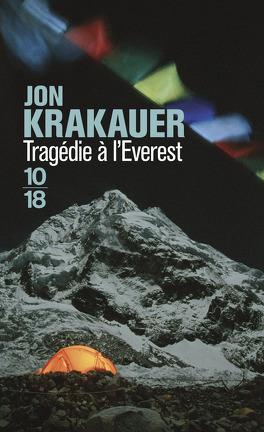 Couverture du livre : Tragédie à l'Everest