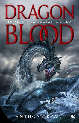 Couverture du livre : Dragon Blood, Tome 2 : La Légion des flammes
