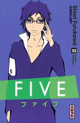 Couverture du livre : Five, Tome 10