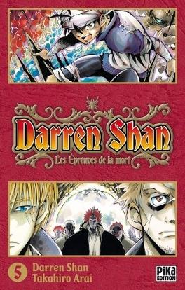 Couverture du livre : Darren Shan, Tome 5 : Les Épreuves de la Mort (manga)