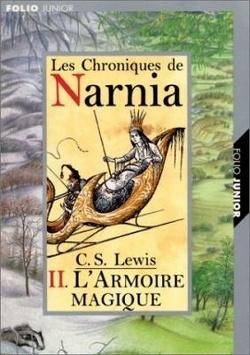 Couverture de Le Monde de Narnia, Tome 2 : Le Lion, la sorcière blanche et l'armoire magique