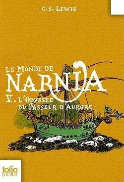 Couverture de Le Monde de Narnia, Tome 5 : L'Odyssée du Passeur d'Aurore