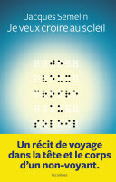 Couverture du livre : Je veux croire au soleil