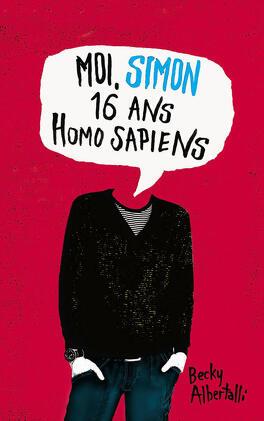 Couverture du livre : Moi, Simon, 16 ans, Homo sapiens