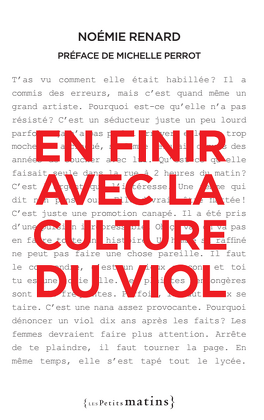 Couverture du livre : En finir avec la culture du viol