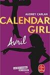 couverture Calendar Girl, Tome 4 : Avril