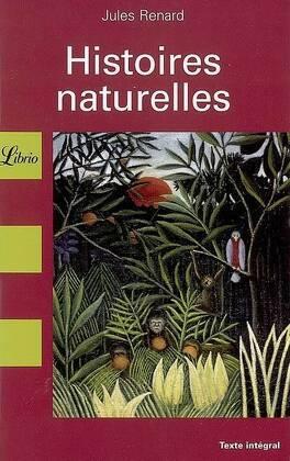 Couverture du livre : Histoires naturelles