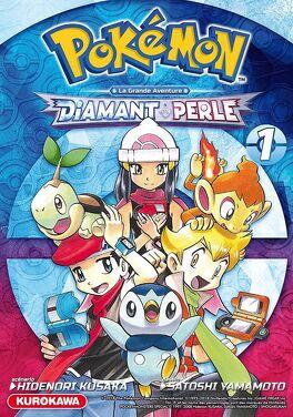 Pokemon La Grande Aventure Diamant Et Perle Tome 1