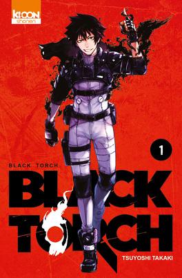 Couverture du livre : Black Torch, Tome 1