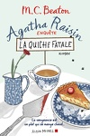 couverture Agatha Raisin enquête, Tome 1 : La Quiche fatale