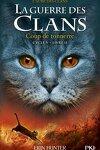 couverture La Guerre des Clans, Cycle 5 : L'Aube des Clans, Tome 2 : Coup de Tonnerre