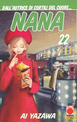 Couverture du livre : Nana, Tome 22