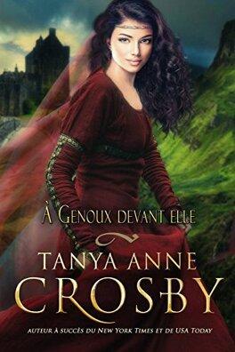 Couverture du livre : Les Demoiselles des Highlands, Tome 3 : À Genoux devant elle