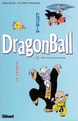 Couverture de Dragon Ball, Tome 4 : Le Tournoi