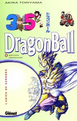 Couverture du livre : Dragon Ball, Tome 35 : L'Adieu de Sangoku