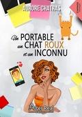 Un portable, un chat roux et un inconnu
