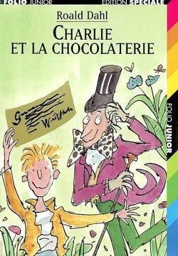 Couverture de Charlie et la chocolaterie
