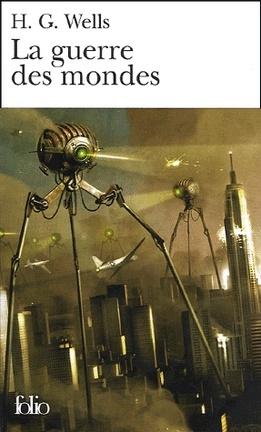 Couverture du livre : La Guerre des mondes