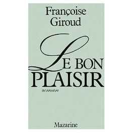 Couverture du livre : Le bon plaisir