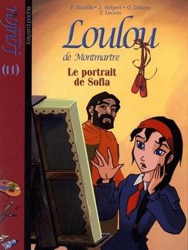 Couverture du livre : Loulou de Montmartre, Tome 11 : Le portrait de Sofia