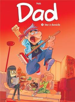 Couverture de Dad, tome 4 : Star à domicile