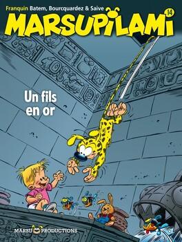 Couverture du livre : Marsupilami, Tome 14 : Un fils en or