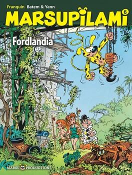 Couverture du livre : Marsupilami, Tome 6 : Fordlandia