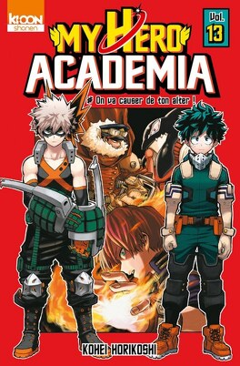 Couverture du livre : My Hero Academia, Tome 13 : On va causer de ton alter !