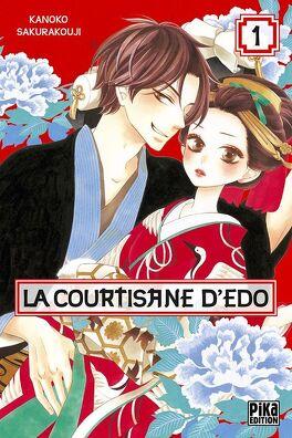 Couverture du livre : La Courtisane d'Edo, tome 1