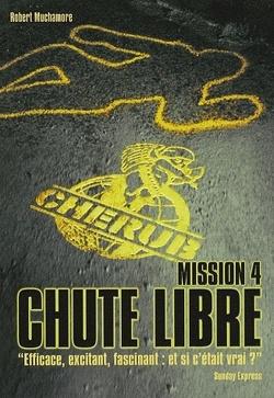 Couverture de Cherub, Tome 4 : Chute libre