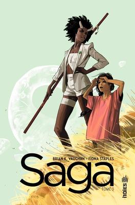 Couverture du livre : Saga, tome 3