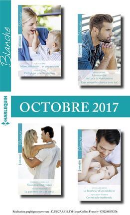 Couverture du livre : 8 romans Blanche (n°1334 à n°1337 - Octobre 2017)