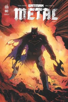 Couverture du livre : Batman - Metal, tome 1 : La forge